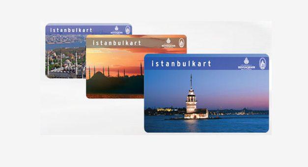 Isztambuli közlekedési kártya