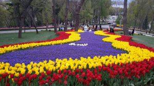 Isztambuli utazások, parkok: Emirgan park