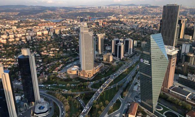 Levent-Isztambul üzleti negyede